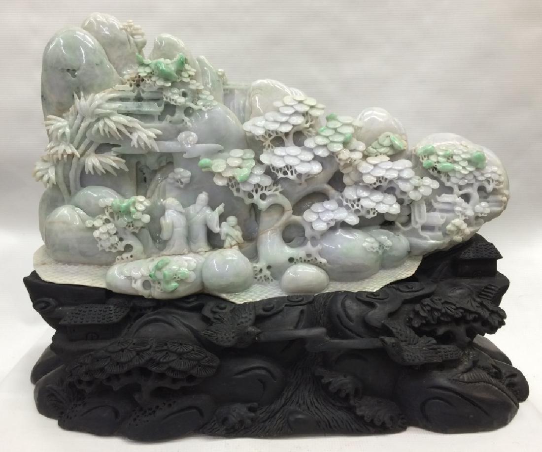 Craved Jade Mountain
