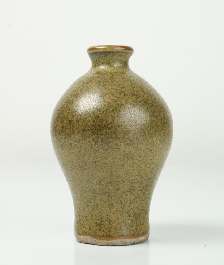 Korean Tea Glazed Vase
