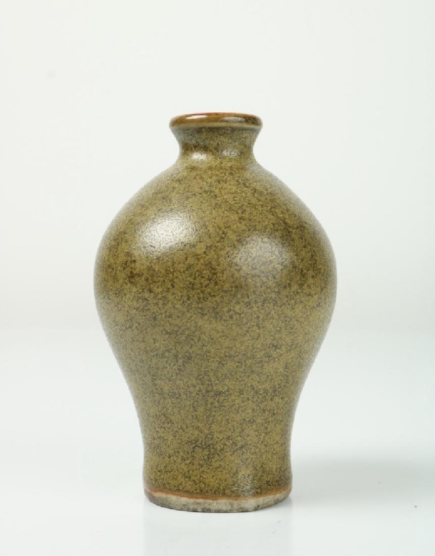 Korean Tea Glazed Vase - 2