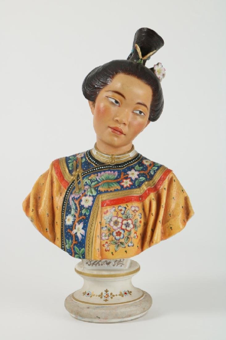 French Made of a Chinese Figure