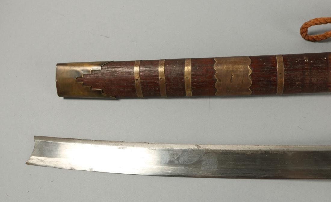 19th C Brass Amountand Polished Grip Panels - 3