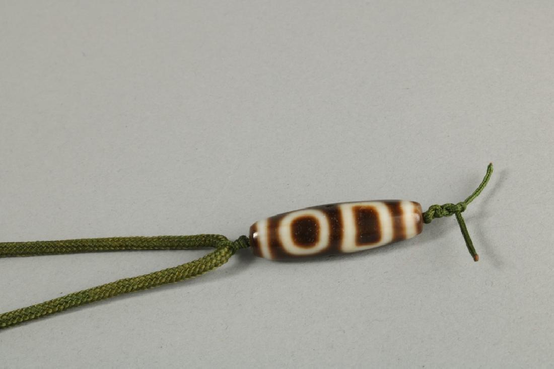 Tibetan Dzi Beads Represents Heaven& Earth - 2