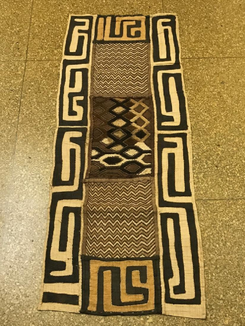African Art Kuba Cloth, DRC