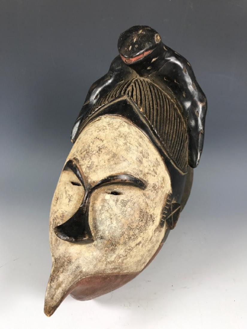 African Art Ogoni Talking Mask from Nigeria - 3