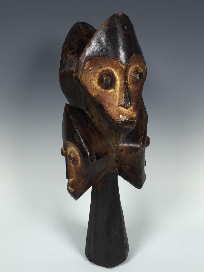 African Art Lega Statue, DRC - 4
