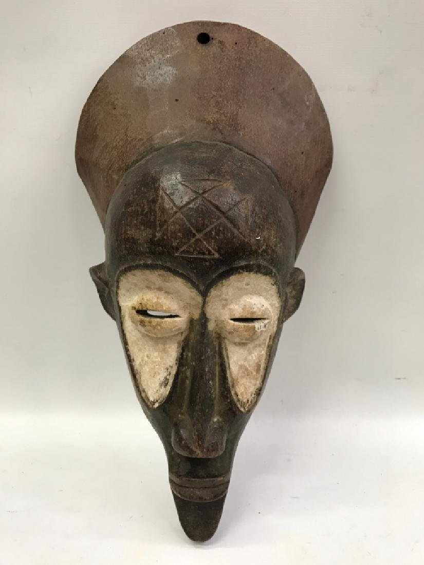 African Art Chokwe Mask, DRC