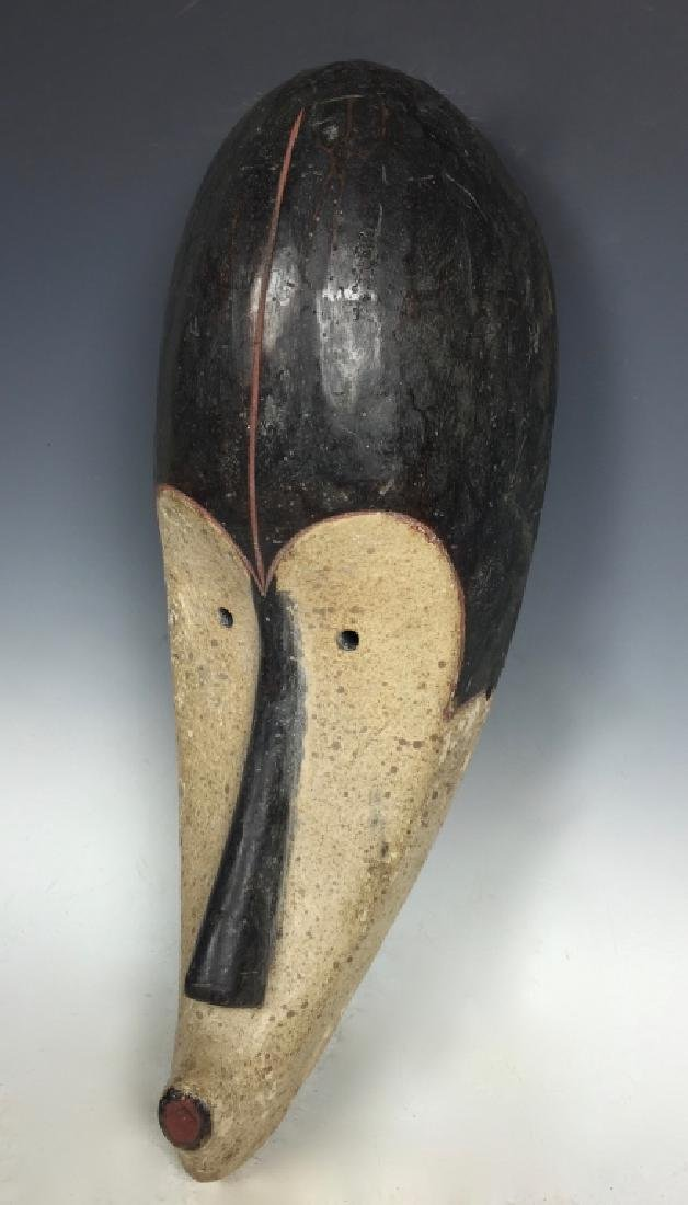 African Art Fang Mask, Gabon - 3