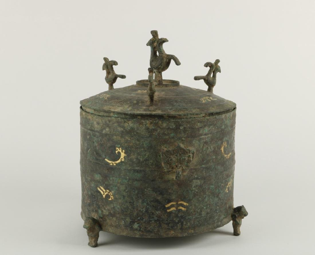 Han, Chinese Bronze Incense Burner