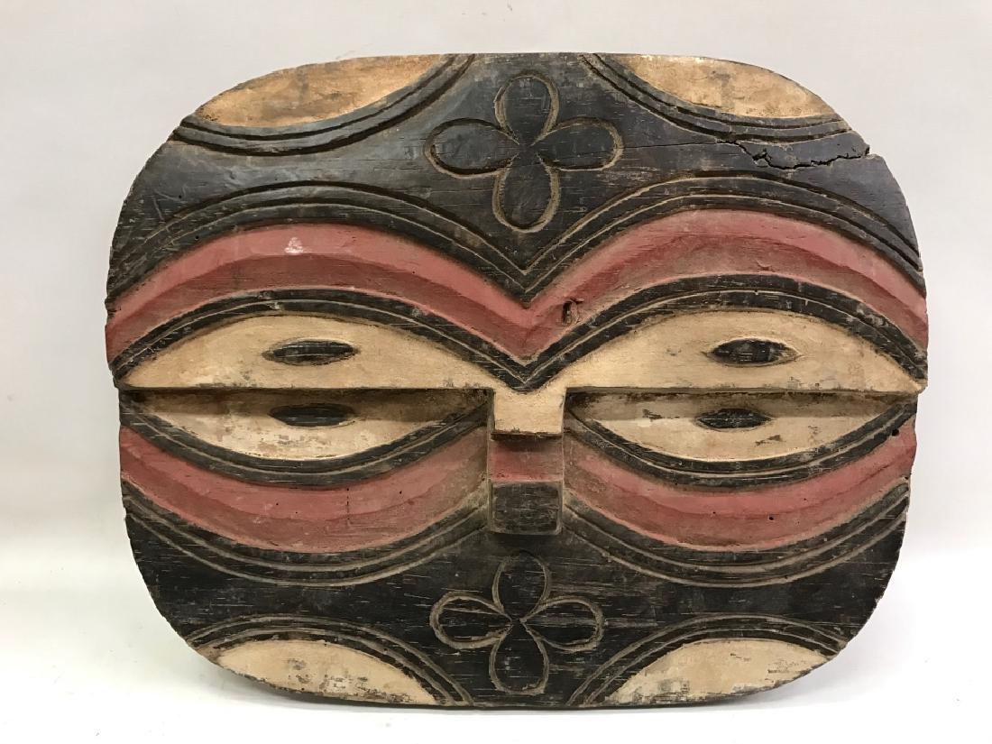 African Art Teke Mask, Congo