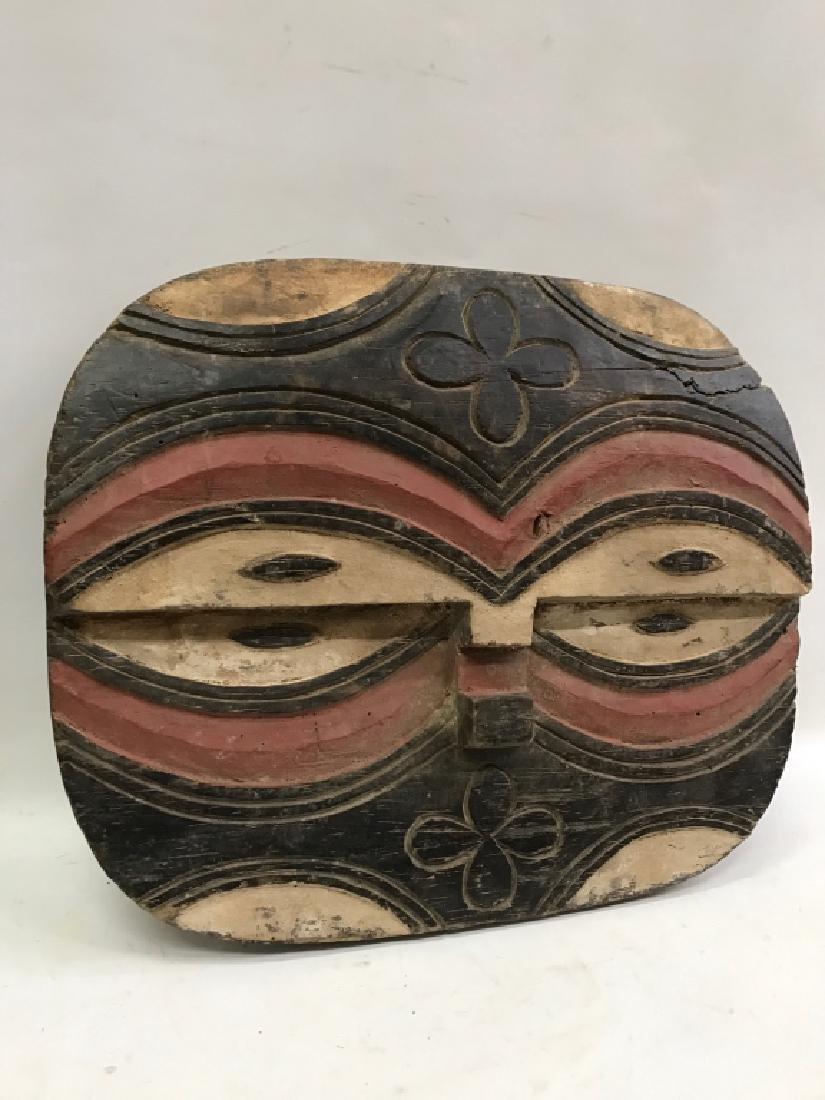 African Art Teke Mask, Congo - 3