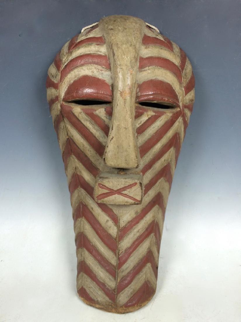 African Art Songye mask, Congo