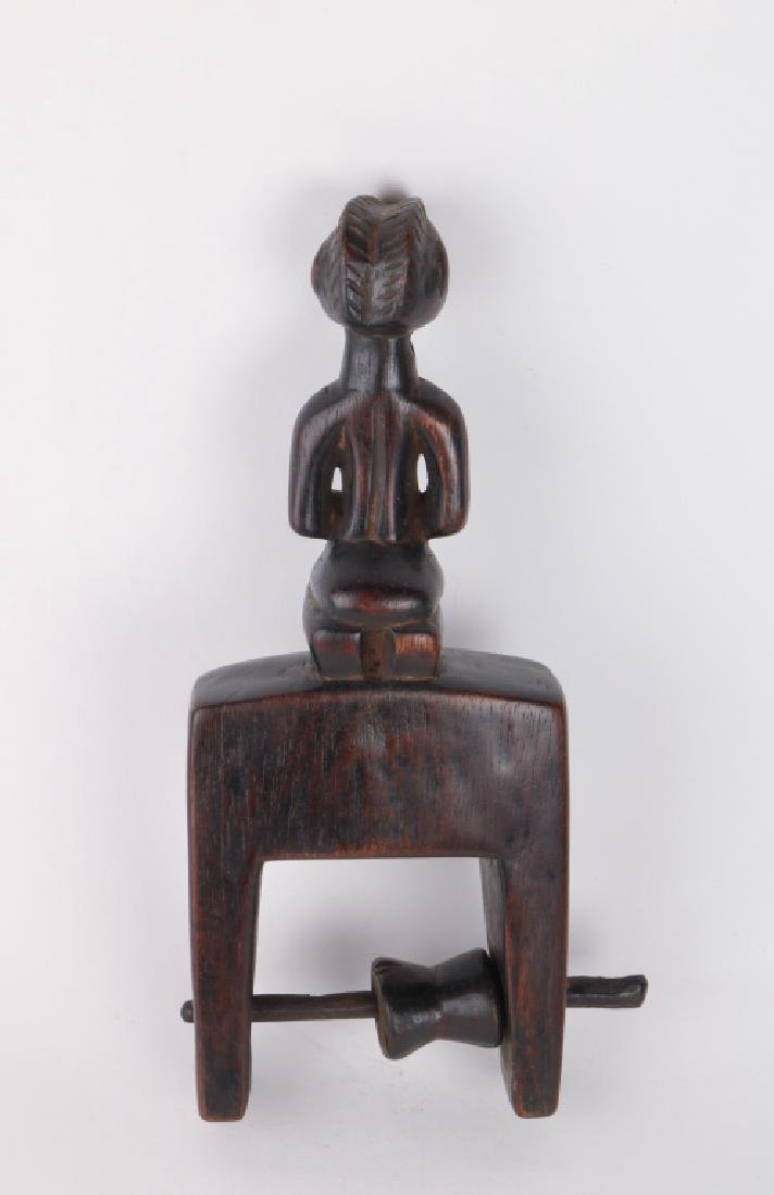 African Art Pulley - 2