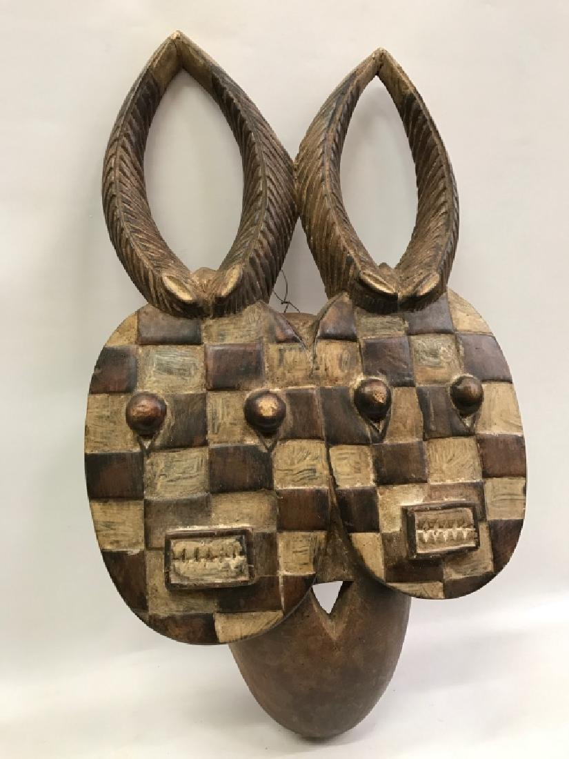 African Art Baule Goli Mask, Ivory Coast - 2