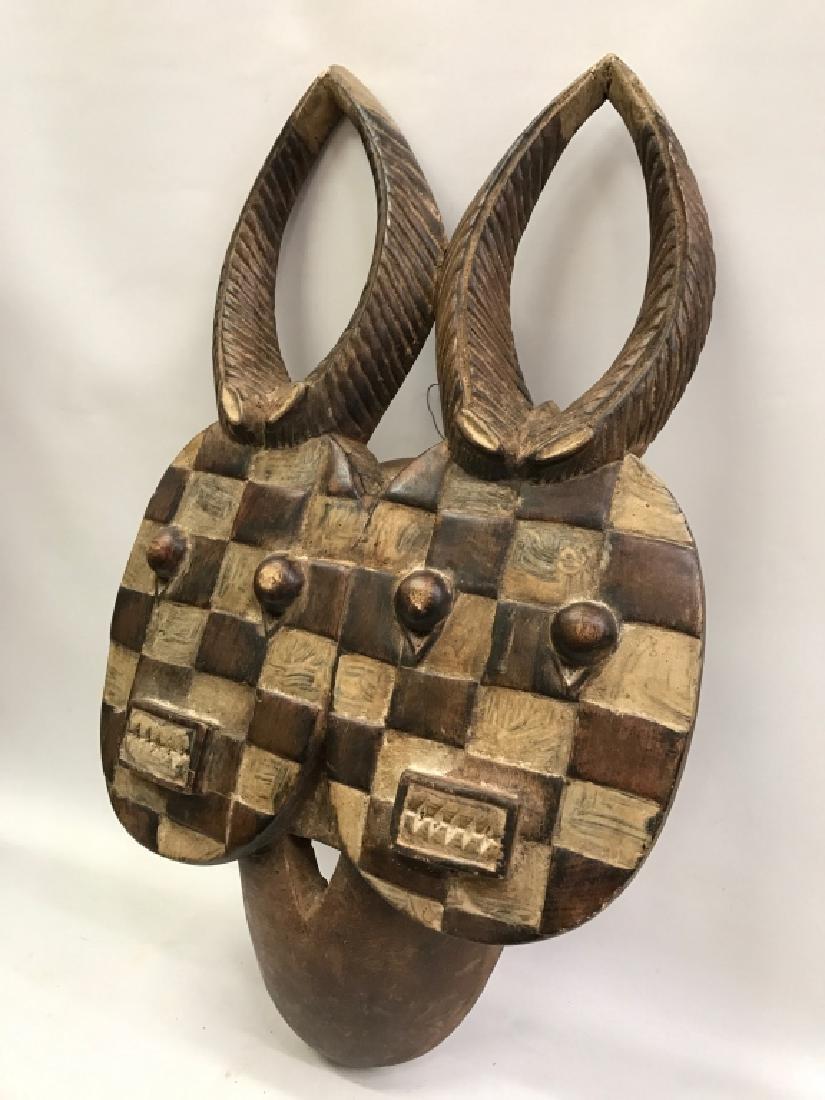 African Art Baule Goli Mask, Ivory Coast - 3