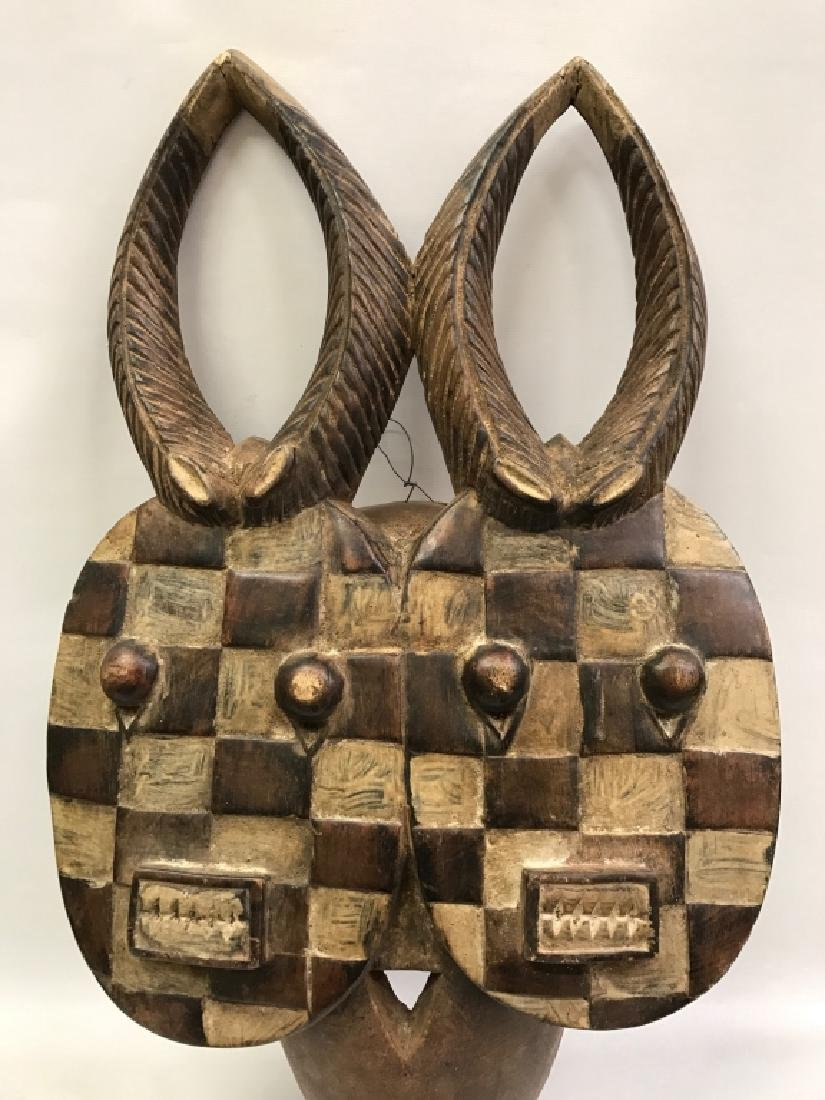 African Art Baule Goli Mask, Ivory Coast - 4