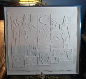 Louise Nevelson (1899 - 1988) - Signed & Dated 1975 -