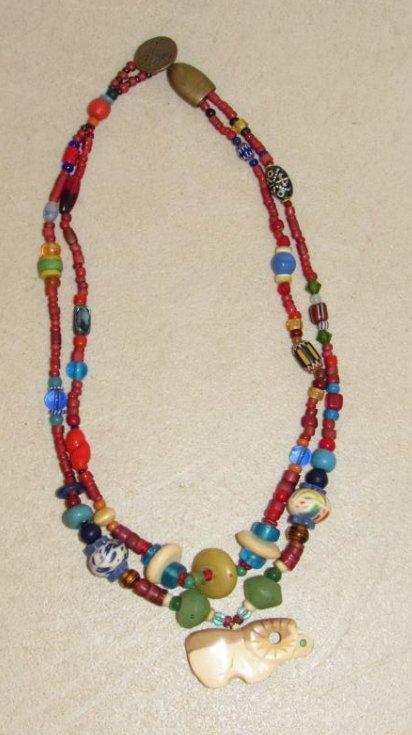 Vintage Kaniatobe Fetish Necklace
