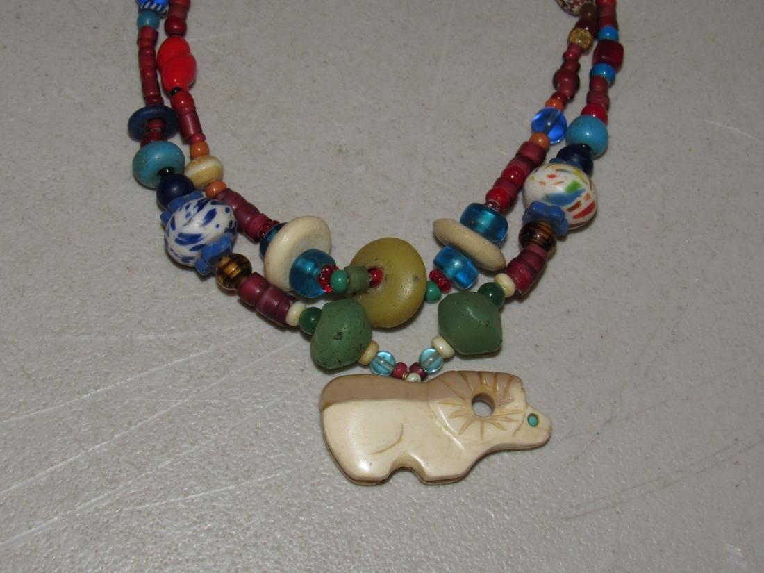 Vintage Kaniatobe Fetish Necklace - 2