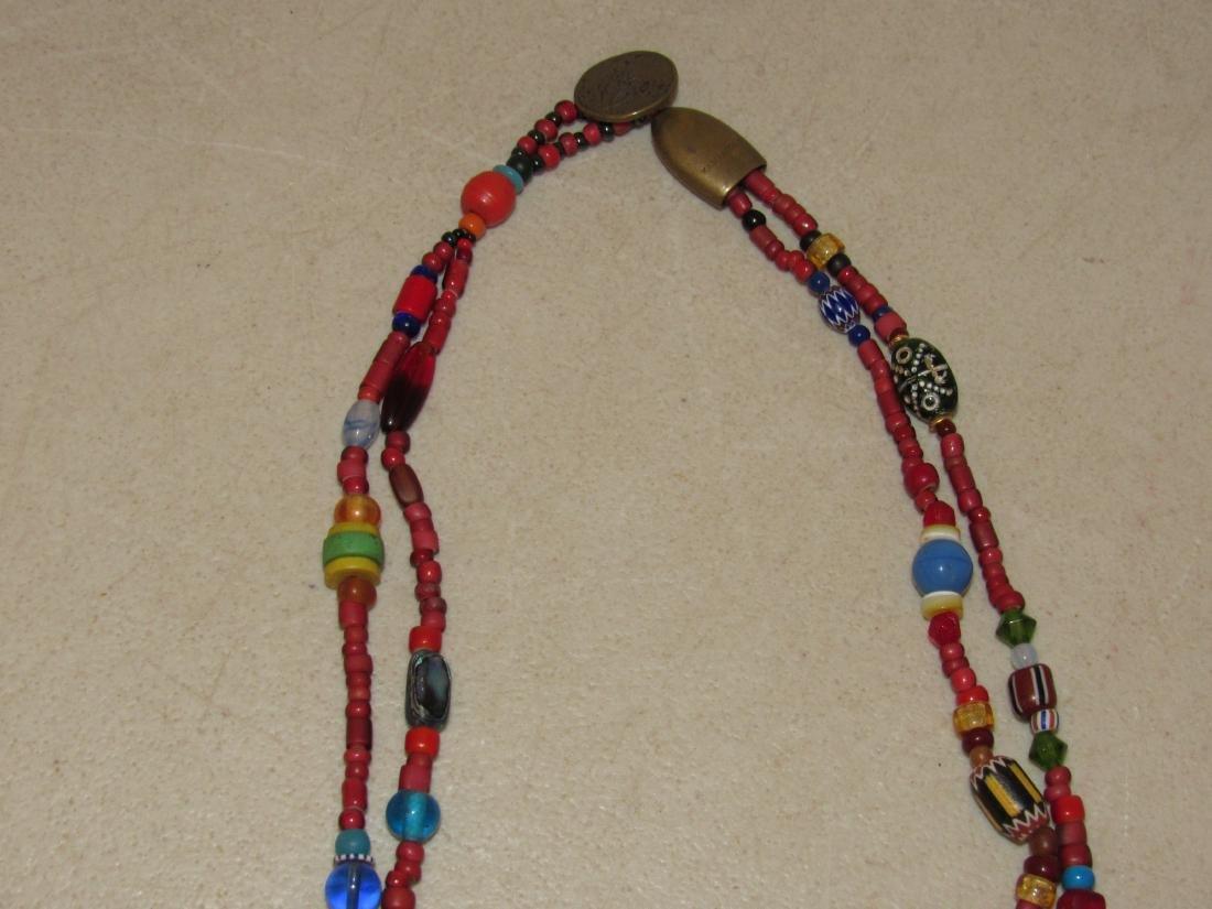 Vintage Kaniatobe Fetish Necklace - 3