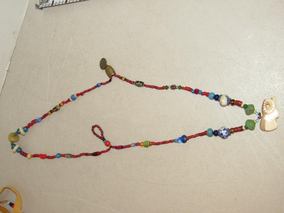 Vintage Kaniatobe Fetish Necklace - 9