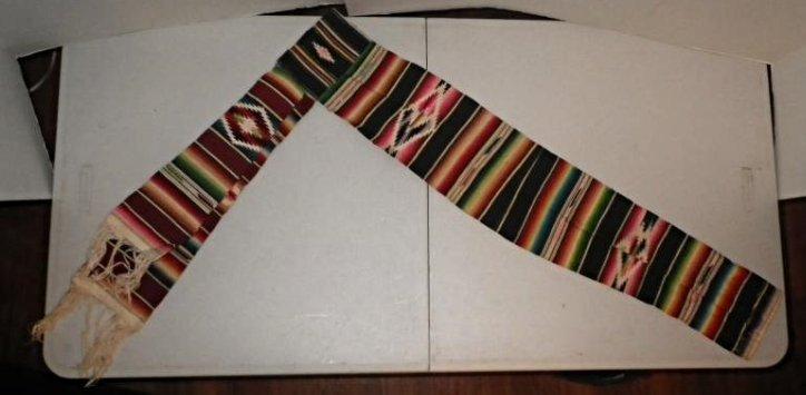 Native American sash belt cummerbund - B.F. Boxley