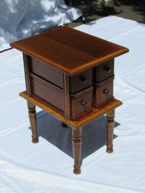 Sewing Machine Drawer Table - 2