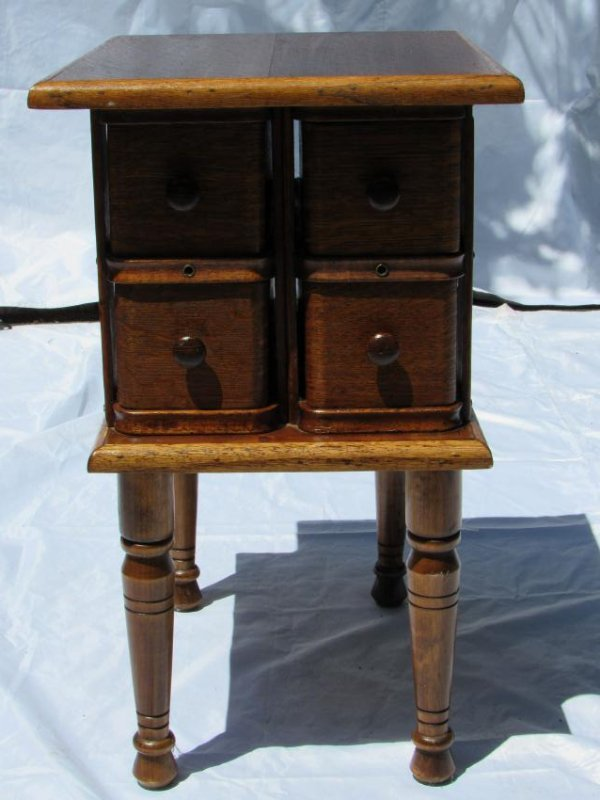 Sewing Machine Drawer Table - 3