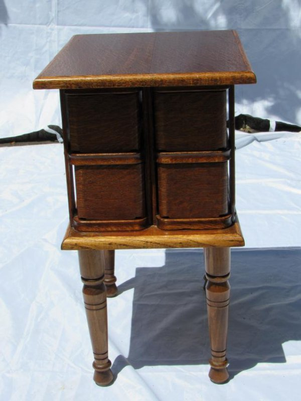 Sewing Machine Drawer Table - 5