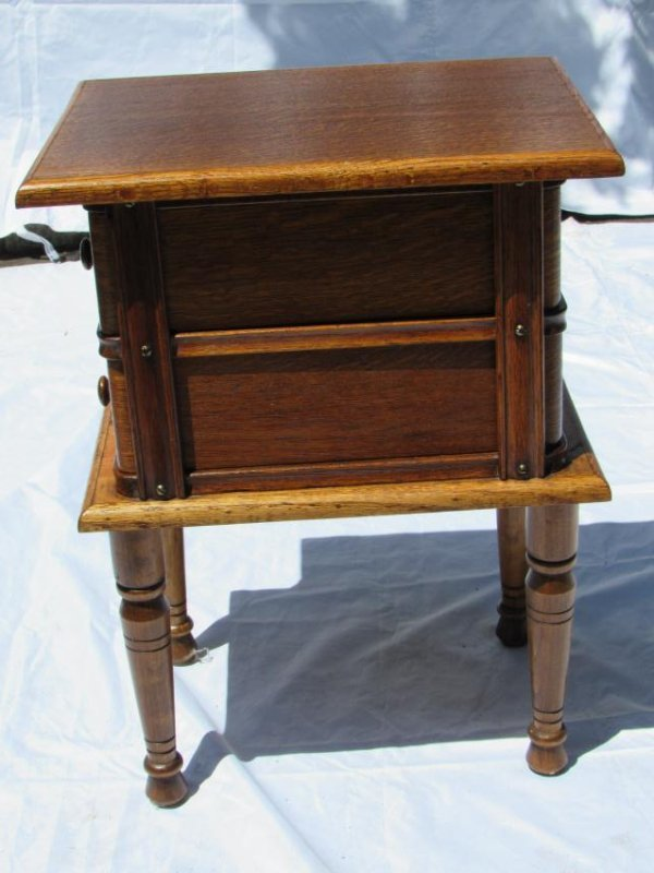 Sewing Machine Drawer Table - 6