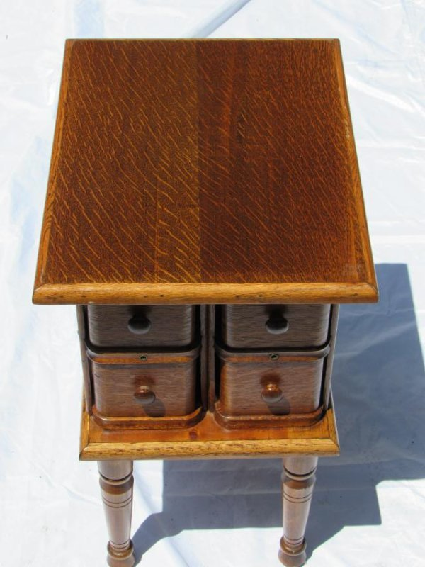 Sewing Machine Drawer Table - 7