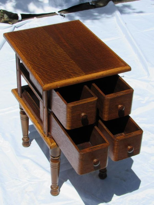 Sewing Machine Drawer Table - 8