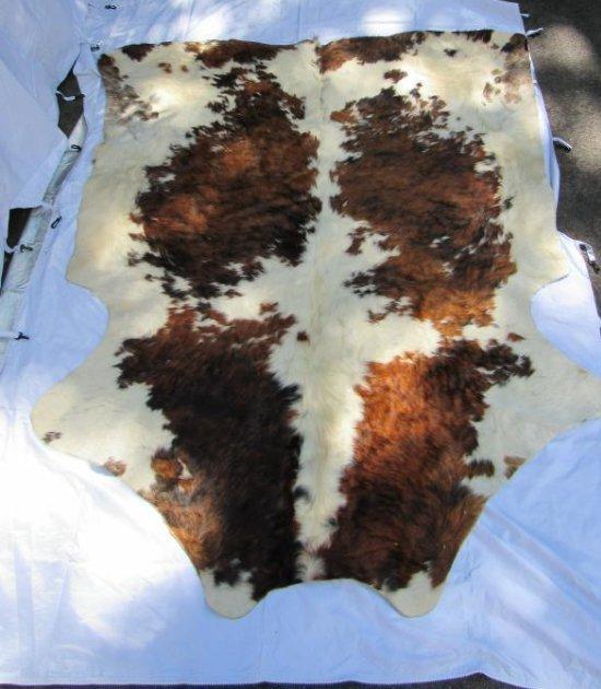 Cow Hide - Brown & White
