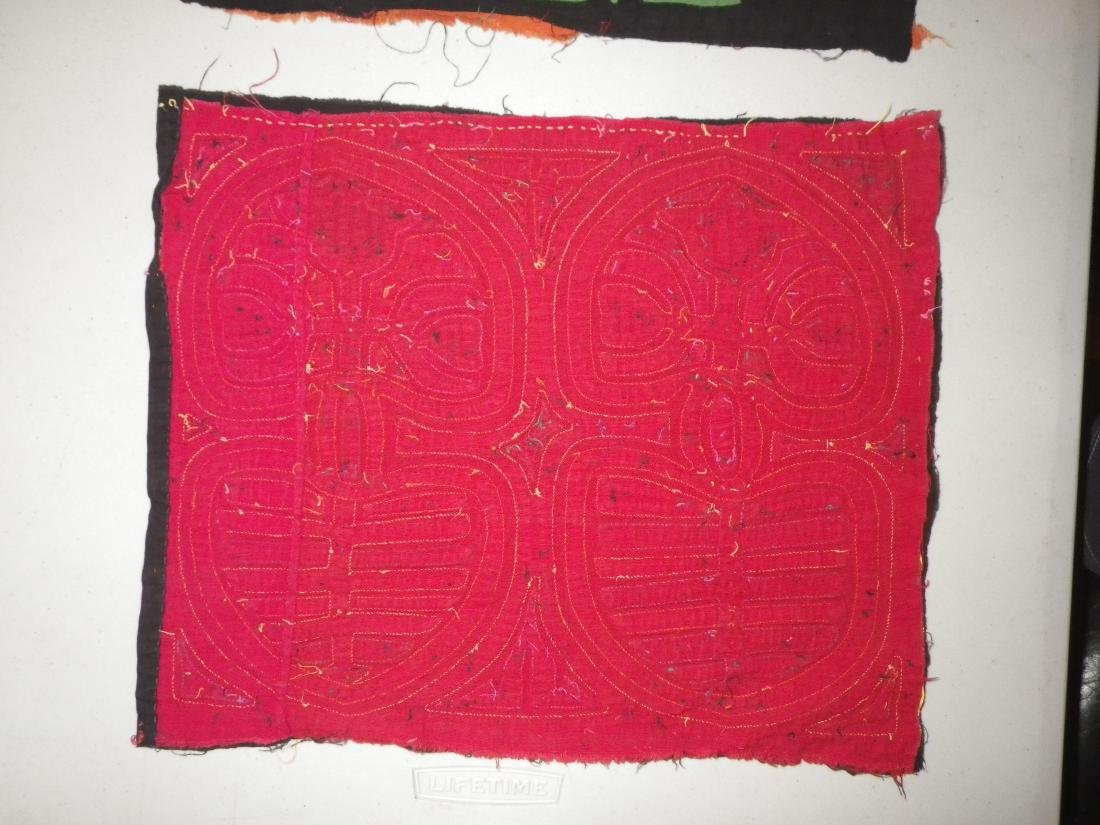 Three (3) Native American Molas - 3