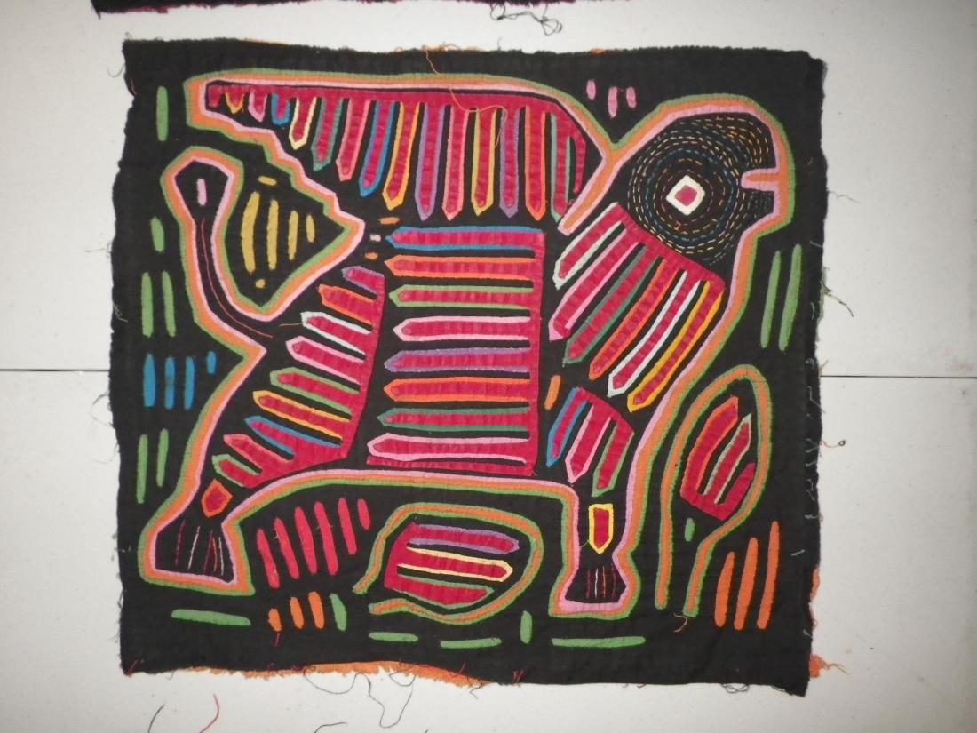 Three (3) Native American Molas - 4