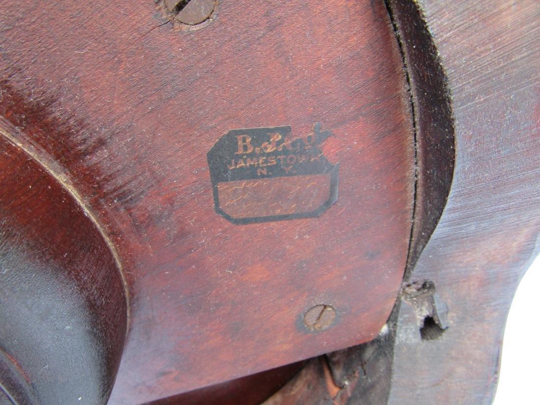 B.J. Co. Jamestown, NY Mahogany Pedestal Table - 10