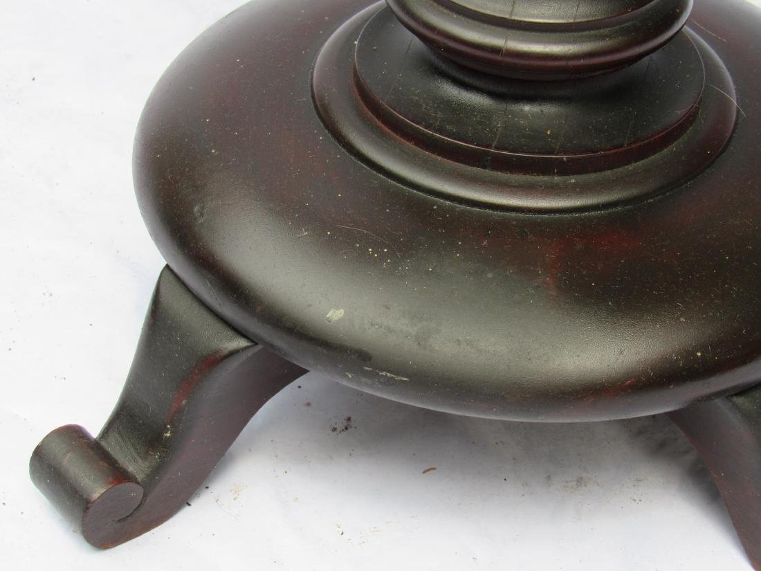 B.J. Co. Jamestown, NY Mahogany Pedestal Table - 6