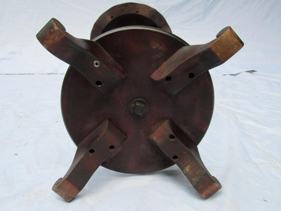 B.J. Co. Jamestown, NY Mahogany Pedestal Table - 8