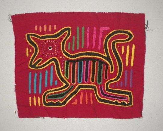 Native American Mola - Cat