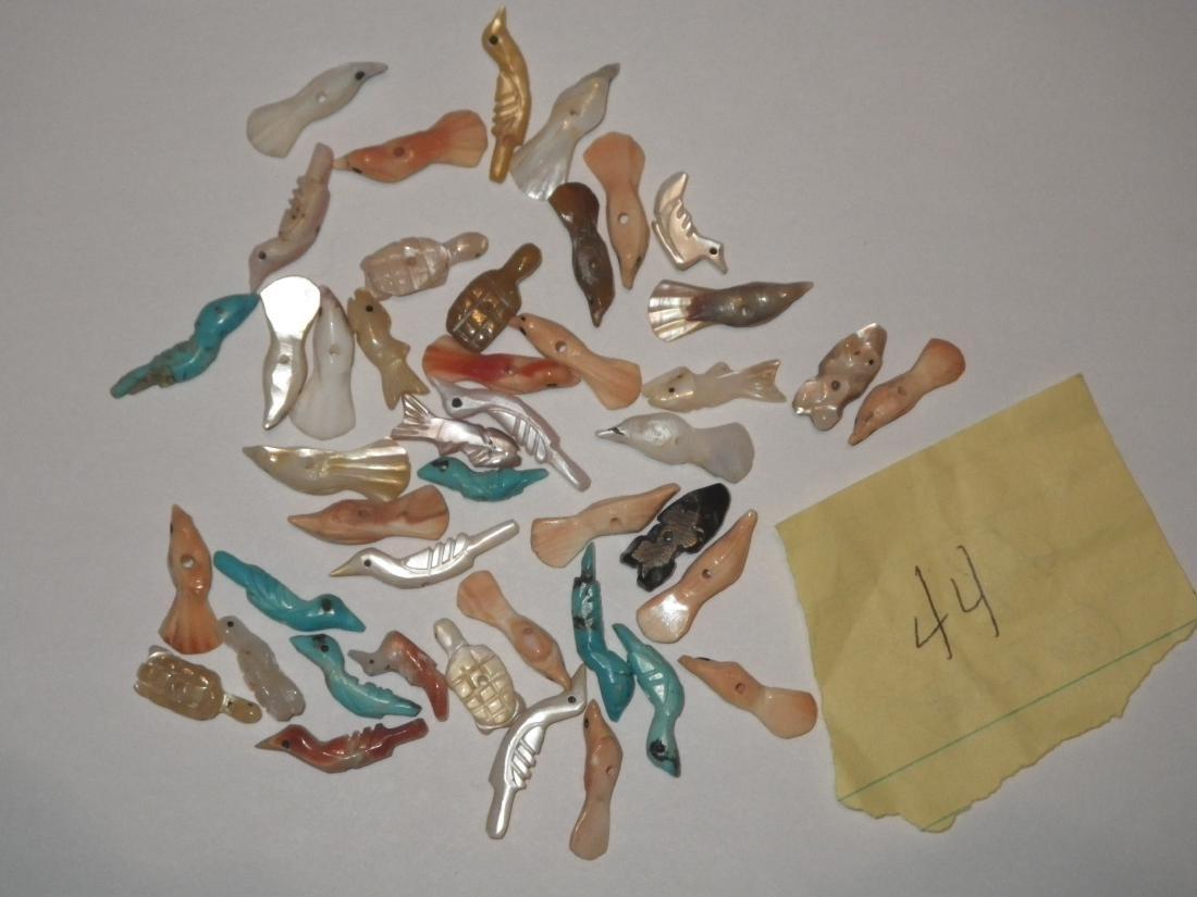 Zuni Fetish Native American Pieces - 44 - 2