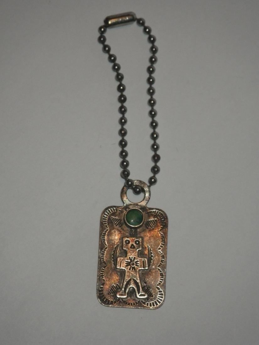 Sterling Silver Native American Medicine Man Charm