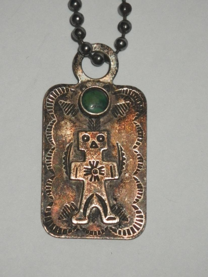 Sterling Silver Native American Medicine Man Charm - 2