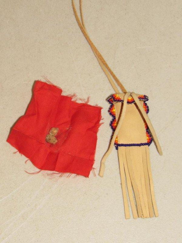 Native American Medicine Man Necklace - 2
