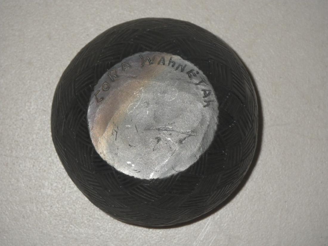 Cora Wahnetah (1907 - 1986) Signed Cherokee Pottery - 7
