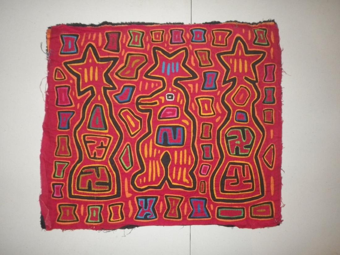 Stars & Totem Native American Mola