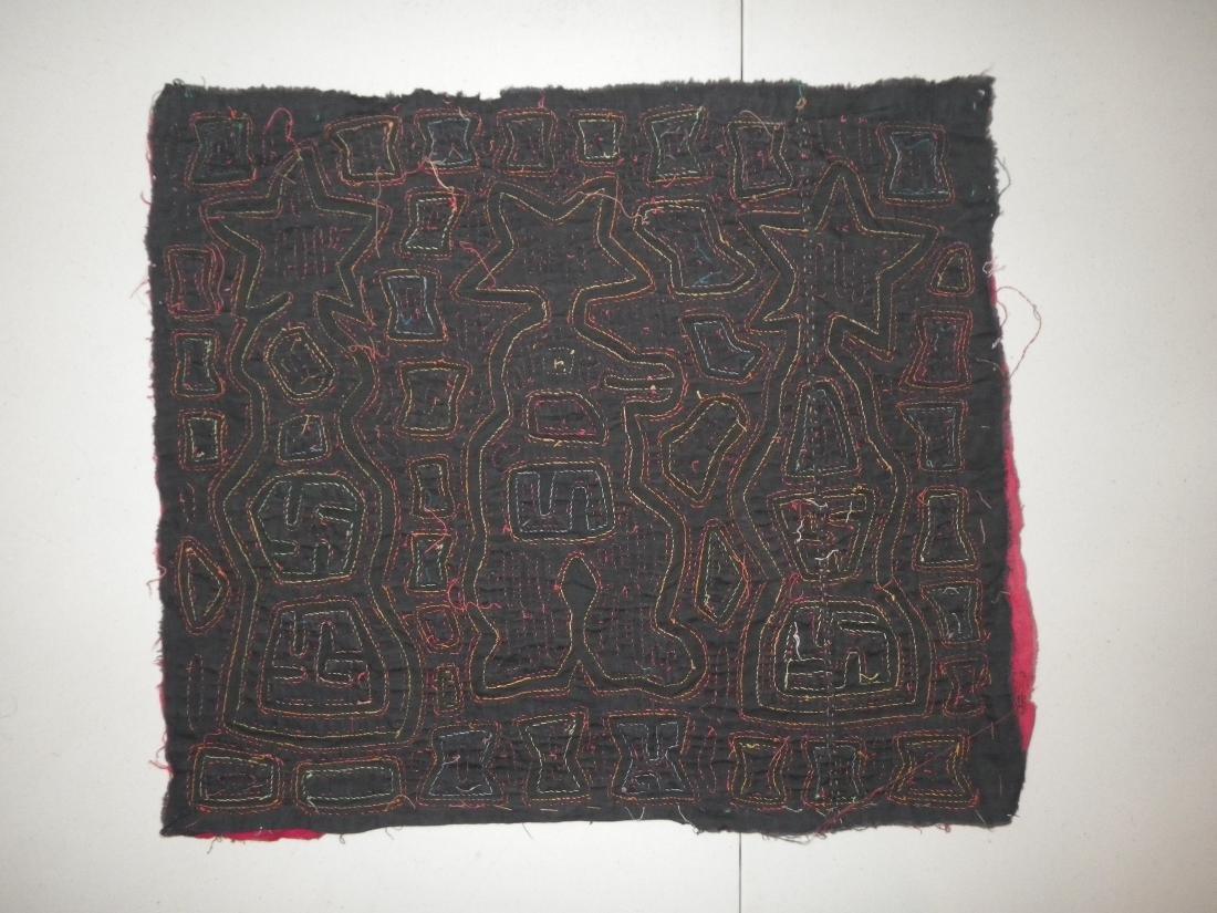 Stars & Totem Native American Mola - 2