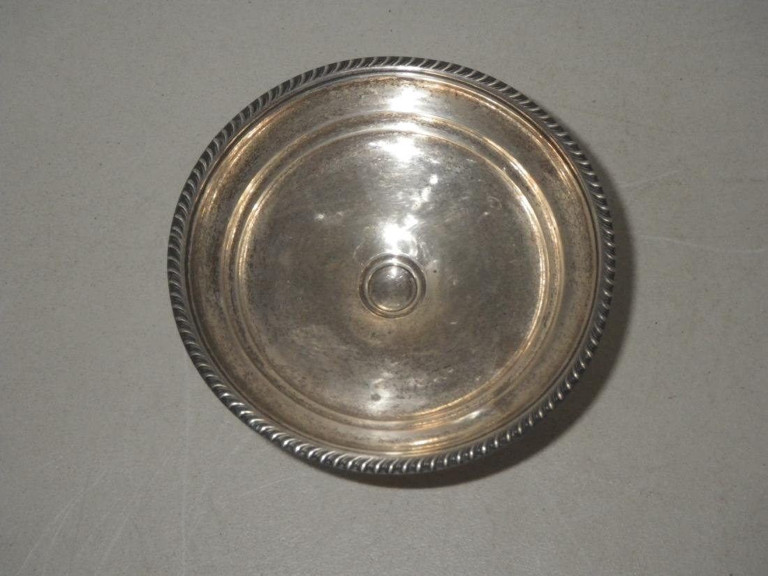 Sterling Silver Compote Candy Dish - Weighted - 4