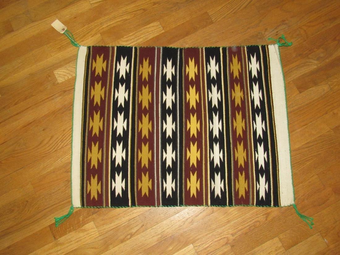 Native American rug - 4