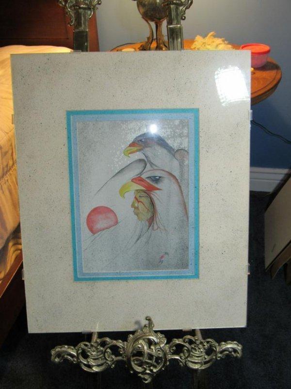 Native American Birds - Watercolor