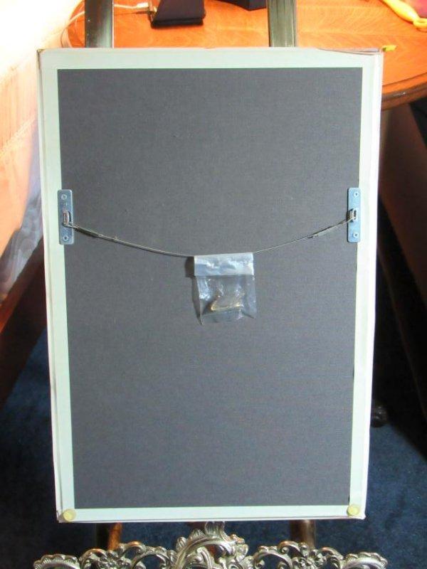 Beaded Mask in Lucite Box Frame - 6