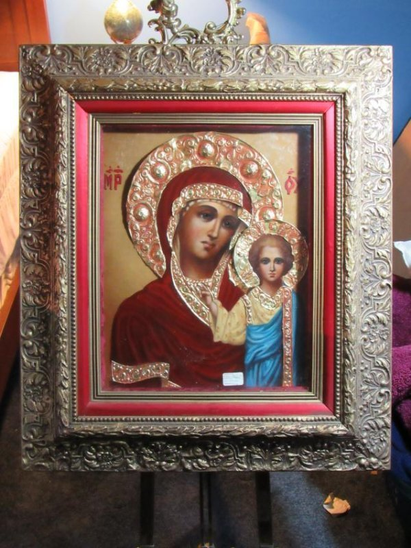 Icon - Mother & Child - Kazanskaya - Ivan Nieperov